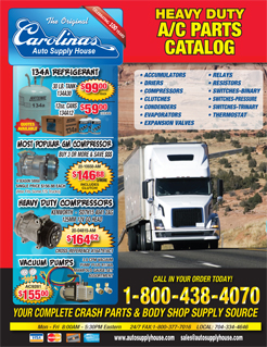 2015 Carolinas Auto Supply House Heavy Duty Truck Catalog.