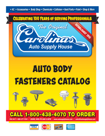 2015 Carolinas Auto Supply House Fastener Catalog.